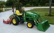 2010 John Deere 2320 Loader,  Mower,  Dump Cart 4WD