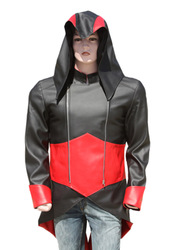 Black Assassins Hoodie Connor Kenway Jacket | Assassins Creed 3 Jacket