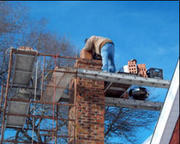 Professional chimney cap repair services at Safeway Chimney Sweeps,  In