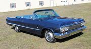 1963 Chevrolet Impala Convertible 2 Door