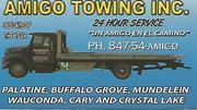 $60 Day/$90 Night Flatbed Towing (Crystal Lake) (Palatine)