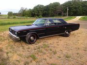 1967 Dodge Coronet RT 440 4 speed,  orig Black w Red accent stripes!
