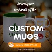 Custom Stamped Mugs  | Boxmark