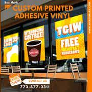 custom adhesive vinyl labels