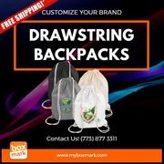 BOXMARK Drawstring backpacks