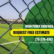 Iron railing installation in chicago