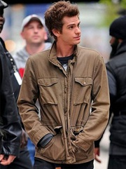 Peter Parker Andrew Garfield Jacket
