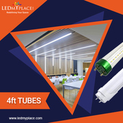 Light up your Workspace by installing 4ft LED Tube Lights Now